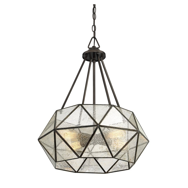 Jacey 4 Light Chandelier With Regard To Well Known Tabit 5 Light Geometric Chandeliers (Gallery 21 of 30)