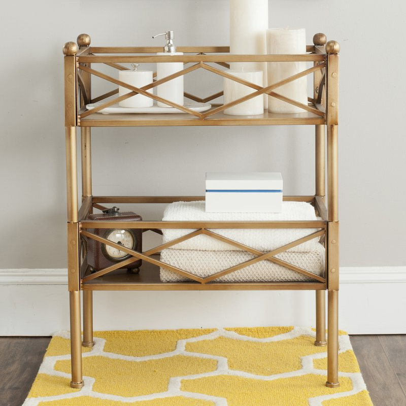 Jamese Etagere Bookcase Inside Favorite Blairs Etagere Bookcases (View 13 of 20)