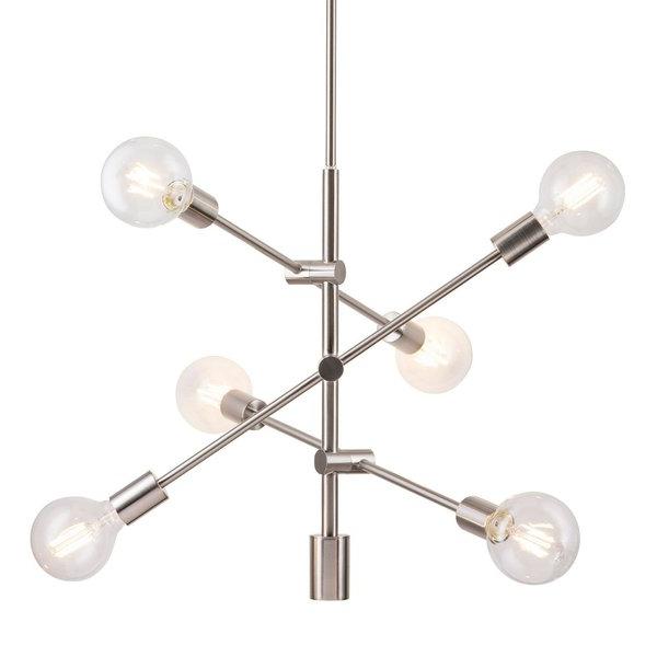Johanne 6 Light Sputnik Chandeliers For Trendy Modern & Contemporary Eastridge 6 Light Sputnik (View 11 of 30)