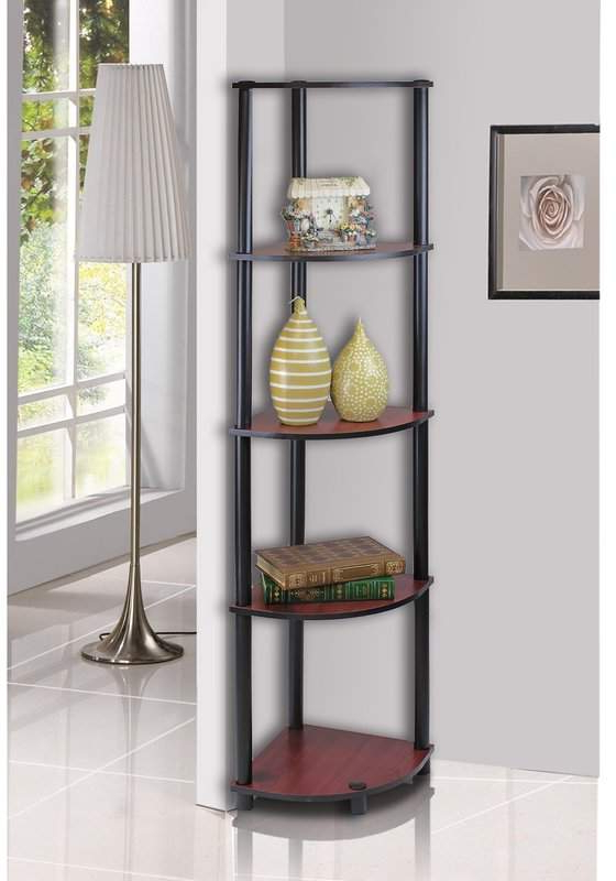 Johannes Corner Bookcase (Gallery 4 of 20)