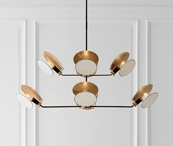 Joon 6 Light Globe Chandeliers In Well Known Visual Comfort (View 11 of 30)