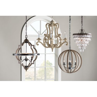 Joss & Main Regarding Fashionable La Sarre 3 Light Globe Chandeliers (View 10 of 30)