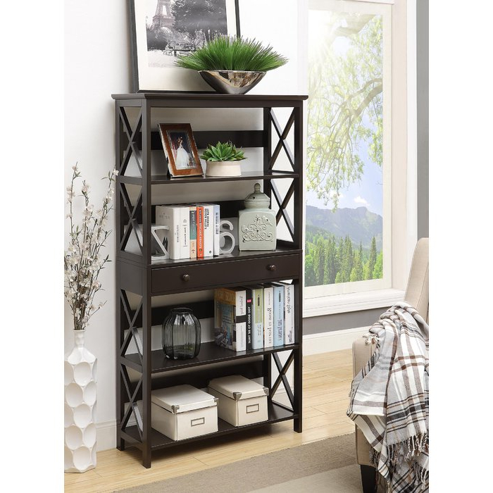 Joss & Main Throughout Gracelynn 5 Tier Etagere Bookcases (View 10 of 20)