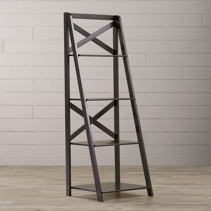 Kaitlyn Ladder Bookcases Pertaining To Most Popular Kaitlyn Ladder Bookcase (View 9 of 20)