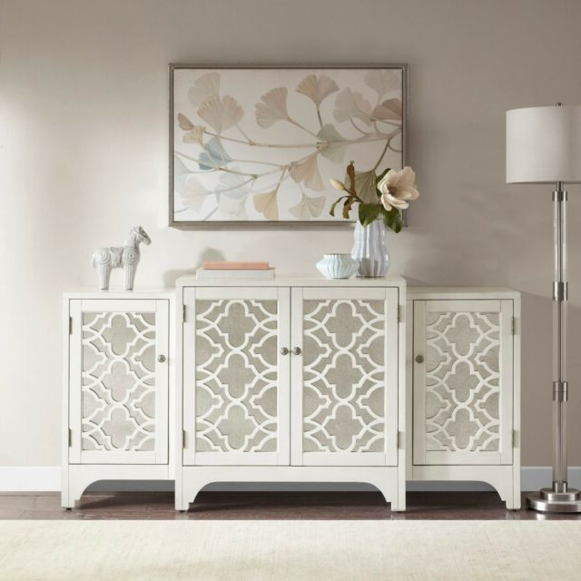 Kendall Sideboards In Widely Used Buffet Sideboard Server Dining Room Cabinet Mirrored Furniture Kitchen  Storage (Gallery 19 of 20)
