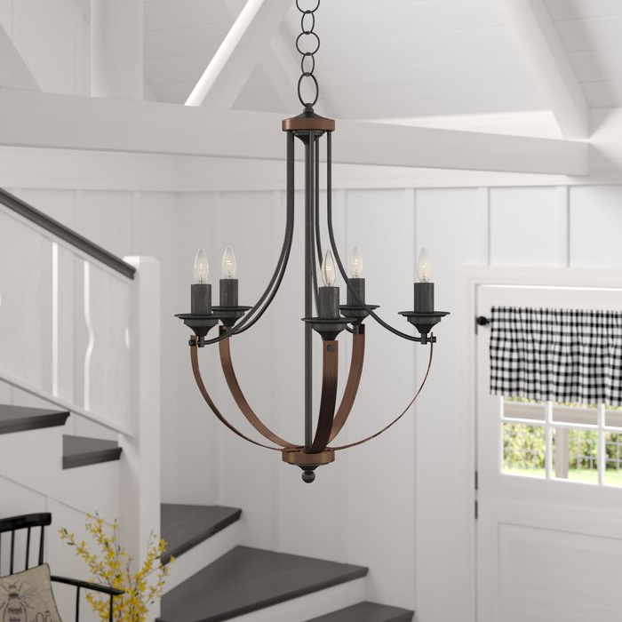 Kenna 5 Light Empire Chandelier Regarding Most Popular Kenna 5 Light Empire Chandeliers (Gallery 1 of 30)