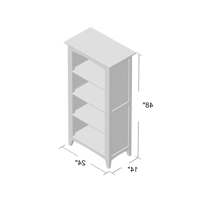 Kerlin Standard Bookcase Regarding Fashionable Kerlin Standard Bookcases (View 8 of 20)