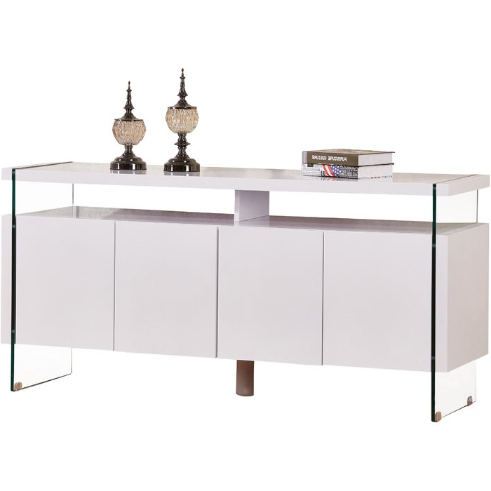 Kieth 4 Door Credenza Intended For Trendy Kieth 4 Door Credenzas (Gallery 2 of 20)