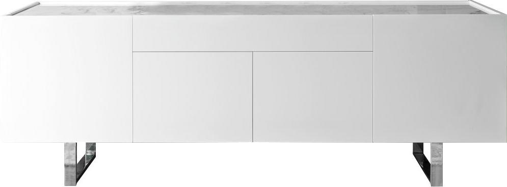 Kieth 4 Door Credenzas Pertaining To 2019 Modern & Contemporary Kieth 4 Door Credenza (View 12 of 20)