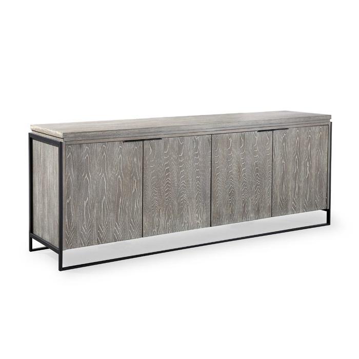 Kieth 4 Door Credenzas Pertaining To Most Current Zybert Sideboard (Gallery 18 of 20)