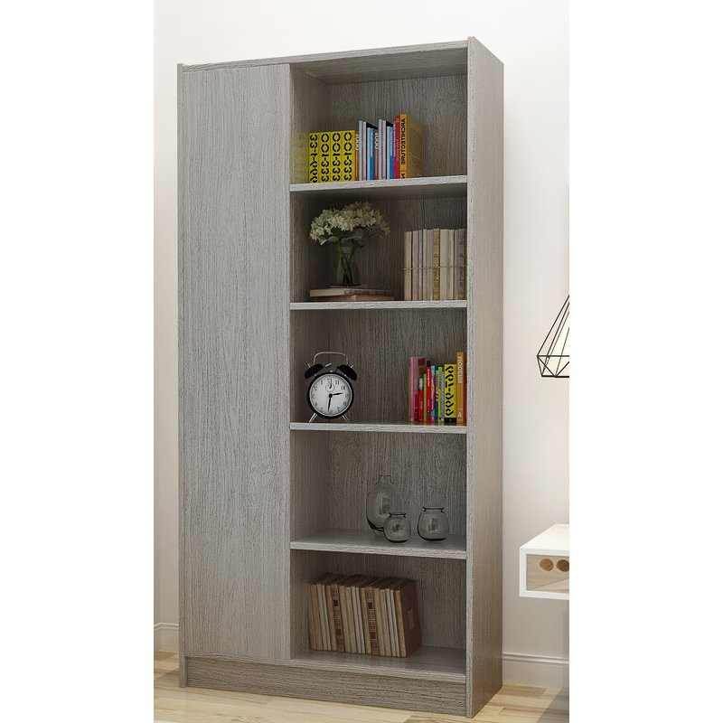 Kiley Standard Bookcases In Preferred Fenske Modern Standard Bookcase (Gallery 14 of 20)