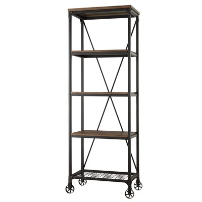 Kilmersdon Etagere Bookcase Inside Most Popular Rocklin Etagere Bookcases (View 18 of 20)