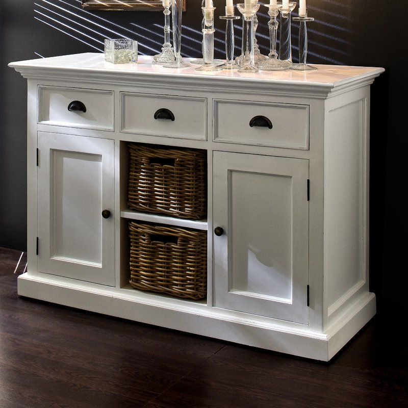 Kitchen Buffet For Amityville Wood Sideboards (Gallery 16 of 20)