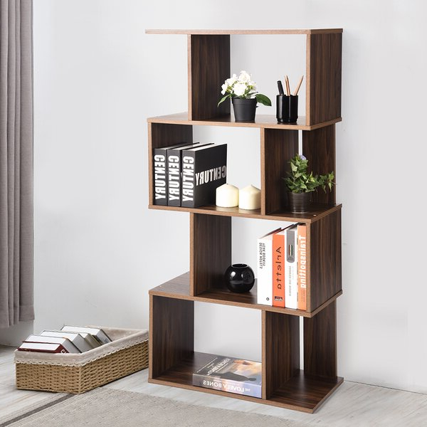 Kubik Geometric Bookcaseivy Bronx Throughout Current Ervin Geometric Bookcases (View 11 of 20)