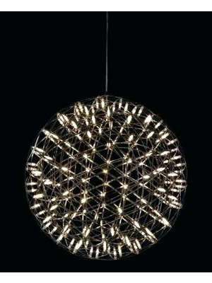 La Barge 3 Light Globe Chandeliers In Newest Suspension Lamp Spherical Light Fixtures – Arinna (View 29 of 30)