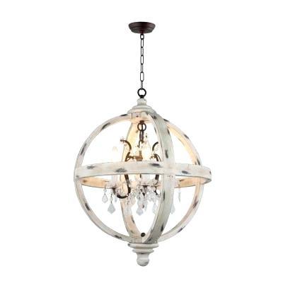 La Barge 3 Light Globe Chandeliers Pertaining To Trendy Globe Light Chandelier – Dabun (View 18 of 30)