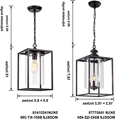 La Barge 3 Light Globe Chandeliers Within 2020 Jojospring La Pedriza Antique Black 3 Light Glass And Metal (View 23 of 30)