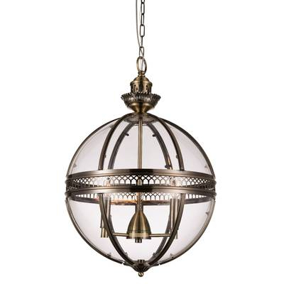 La Sarre 3 Light Globe Chandeliers Inside 2019 Fuhrmann 1 Light Cone Pendant (View 16 of 30)