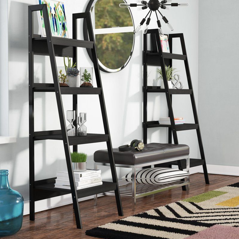 Ladder Bookcase (Gallery 4 of 20)