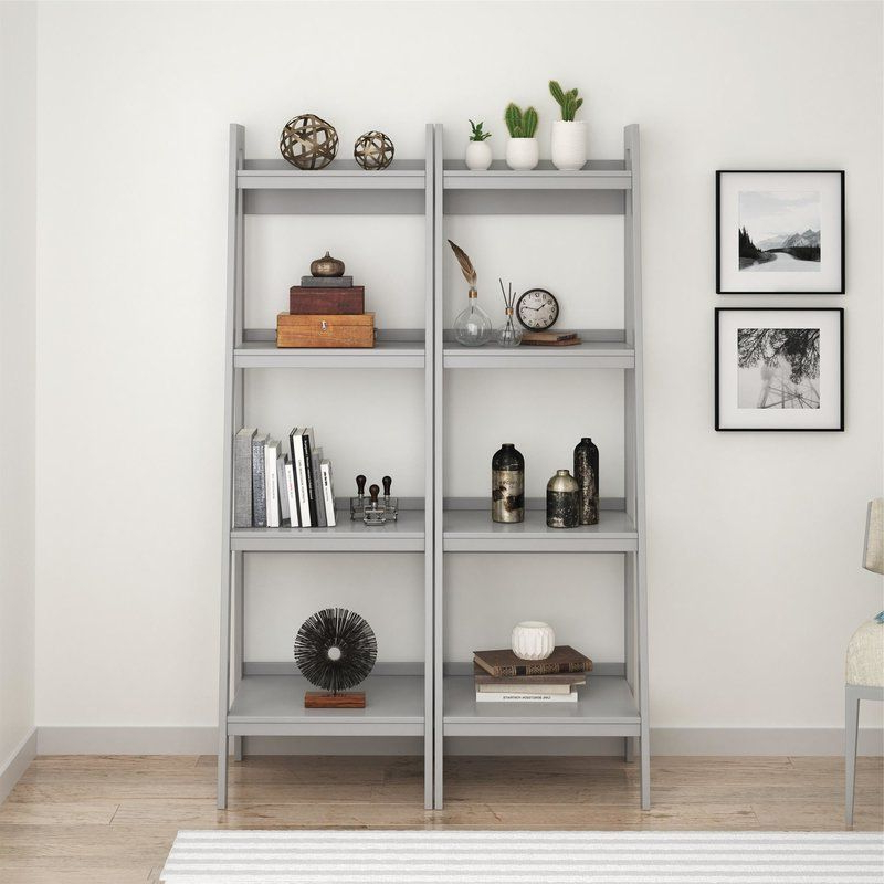 Ladder Bookcase (Gallery 7 of 20)