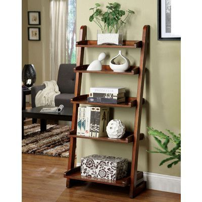 Ladder Regarding Most Current Silvestri Ladder Bookcases (View 7 of 20)