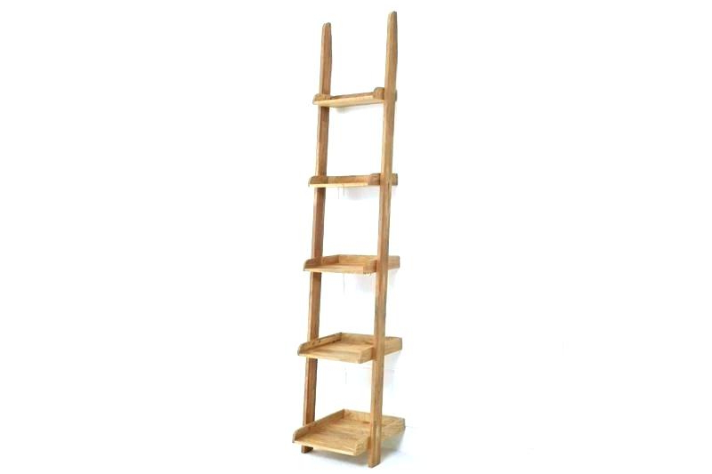 Ladder Shelf Bookcase – Trackidz Regarding Recent Narrow Ladder Bookcases (View 8 of 20)