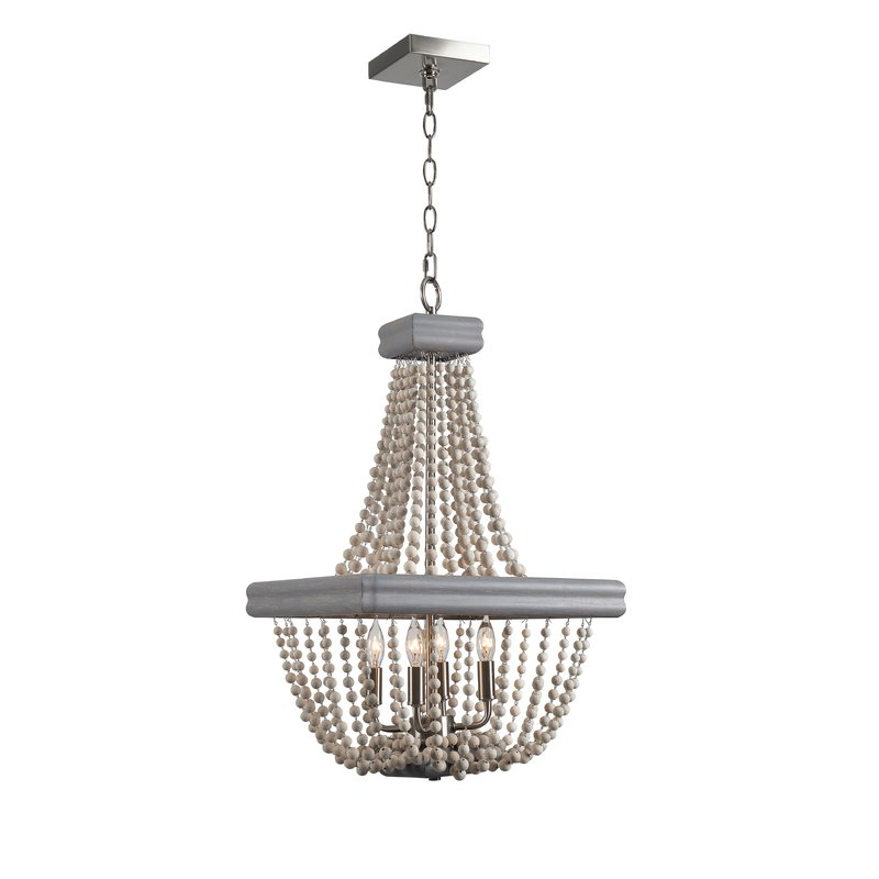 Ladonna 5 Light Novelty Chandeliers With Newest 4 Light Empire Chandelier (View 15 of 30)