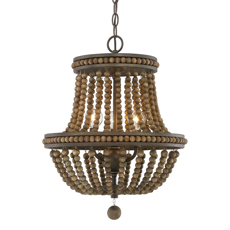 Ladonna 5 Light Novelty Chandeliers With Regard To 2019 Lillian Empire Chandelier (View 16 of 30)