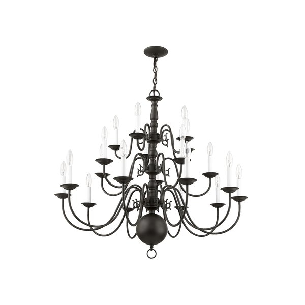 Ladonna 5 Light Novelty Chandeliers Within Favorite Pogue 20 Light Chandelier (Gallery 12 of 30)