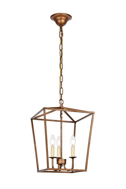 Lantern Pertaining To Finnick 3 Light Lantern Pendants (Gallery 6 of 30)