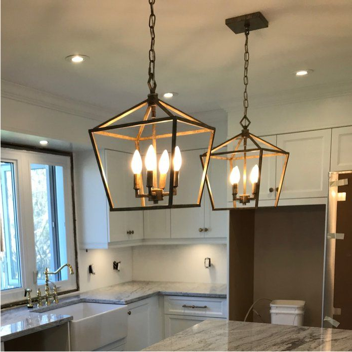 Lantern With Varnum 4 Light Lantern Pendants (View 12 of 30)
