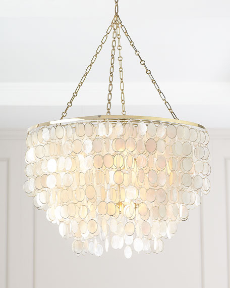 Large Aurora 6 Light Chandelier Throughout Fashionable Donna 6 Light Globe Chandeliers (Gallery 18 of 30)