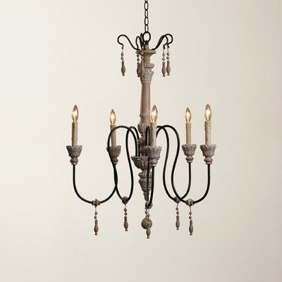 Lark Manor Corneau 5 Light Chandelier In 2019 (Gallery 5 of 30)