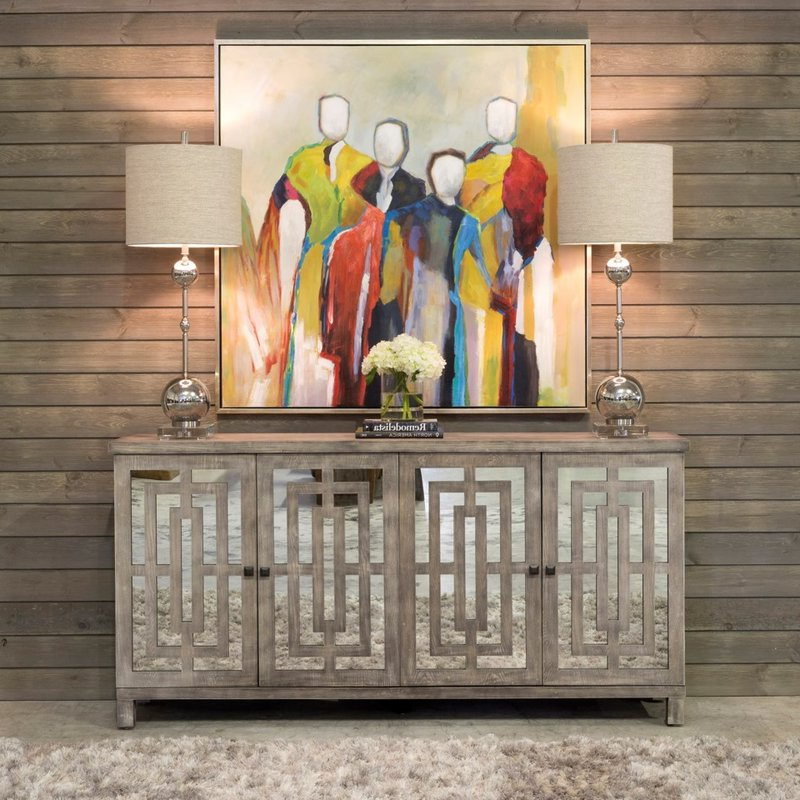 Latest $1629.99 One Allium Way Manuppelli Sideboard – Dealepic . Intended For Haroun Mocha Sideboards (Gallery 10 of 20)