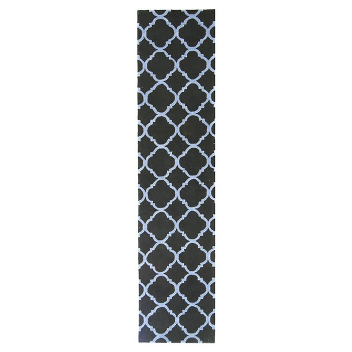 Latest Area Rugs Fullerton Black/blue Geometric Area Rug April 2019 Intended For Tabit 5 Light Geometric Chandeliers (Gallery 29 of 30)