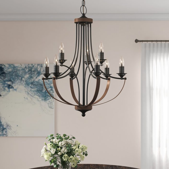 Latest Camilla 9 Light Candle Style Chandelier Throughout Giverny 9 Light Candle Style Chandeliers (View 21 of 30)
