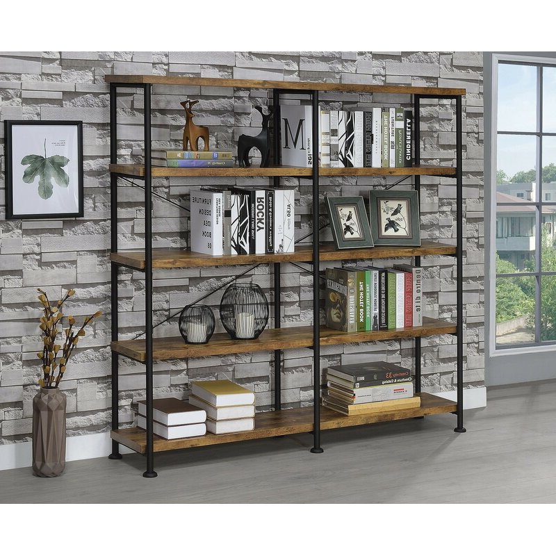 Featured Photo of Cifuentes Dual Etagere Bookcases