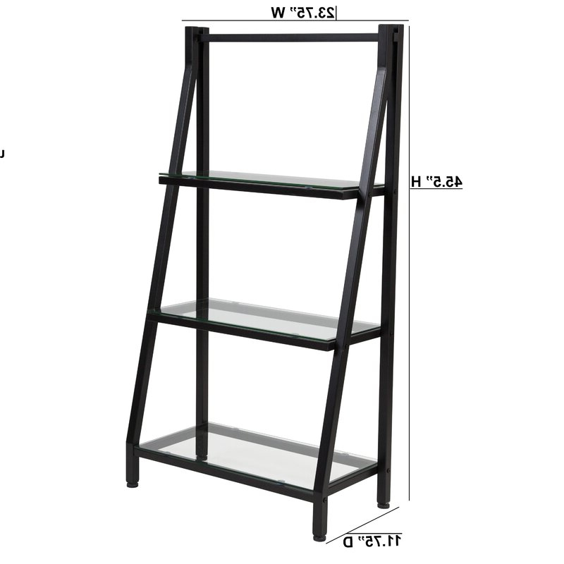Latest Godwin Ladder Bookcase Pertaining To Riddleville Ladder Bookcases (View 5 of 20)