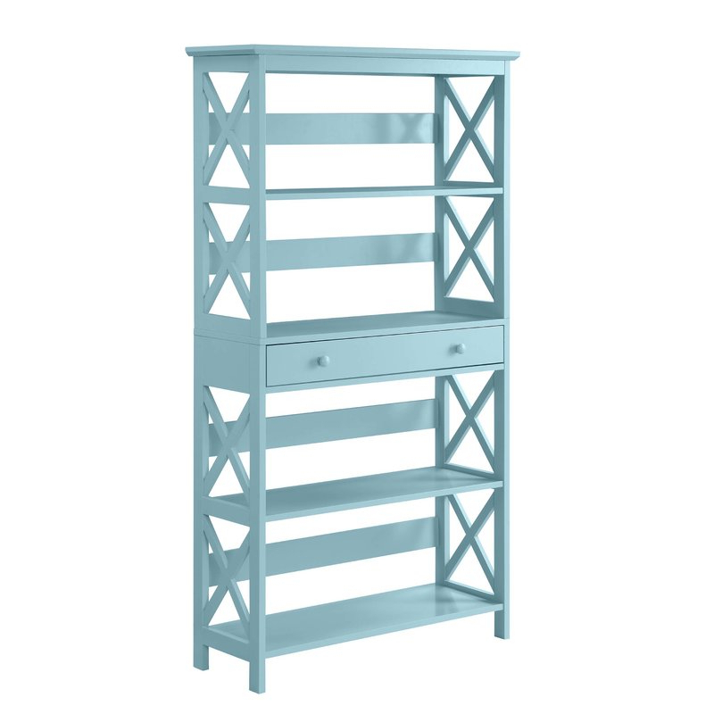 Latest Gracelynn 5 Tier Etagere Bookcase & Reviews (Gallery 1 of 20)