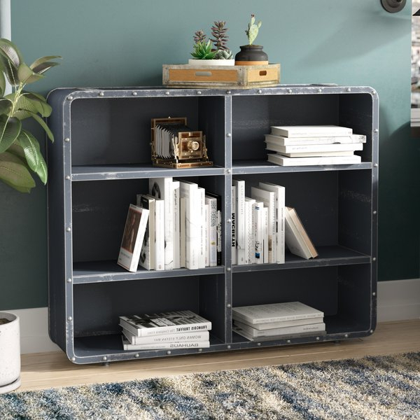 Latest Krausgrill Standard Bookcases In Idora Industrial Rivet Standard Bookcasetrent Austin (Gallery 8 of 20)