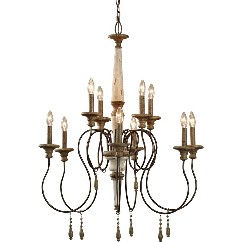 Latest Lark Manor Armande Candle Style Chandelier With Regard To Armande Candle Style Chandeliers (View 22 of 30)
