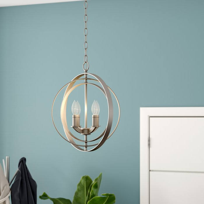 Latest Morganti 4 Light Chandelier For Morganti 4 Light Chandeliers (Gallery 2 of 30)