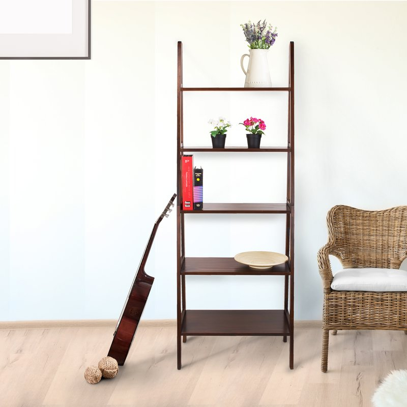 Latest Ranie Ladder Bookcase With Ranie Ladder Bookcases (View 5 of 20)