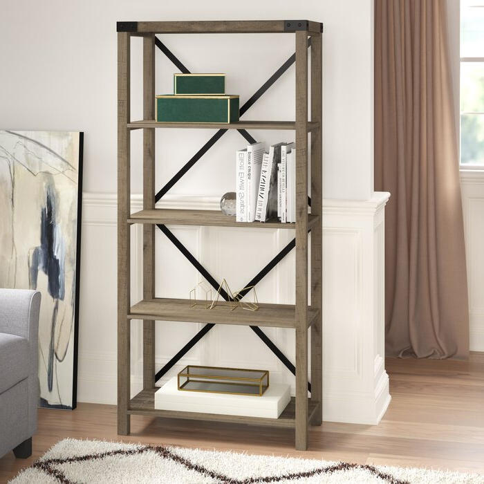 Latest Rossman Etagere Bookcases Regarding Schreiner Etagere Bookcase (Gallery 9 of 20)