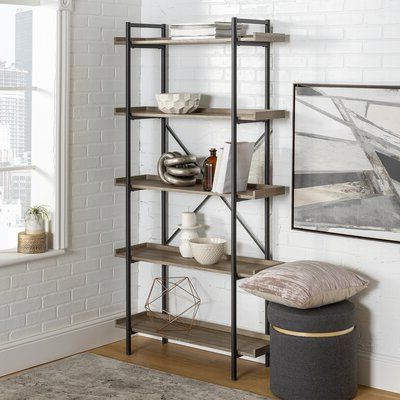 Latest Swindell Etagere Bookcases In Williston Forge Swindell Etagere Bookcase In 2019 (Gallery 8 of 20)