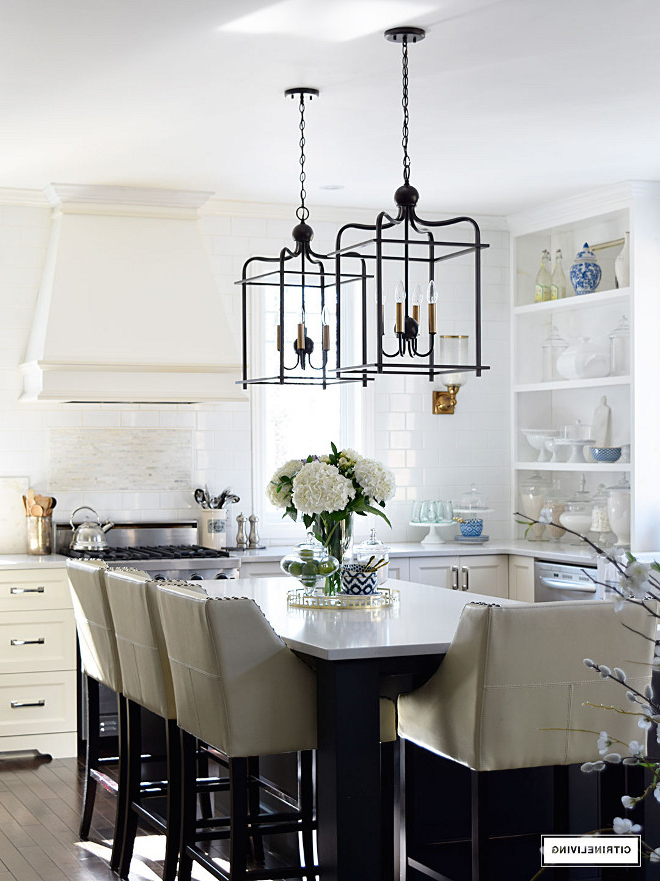 Latest Varnum 4 Light Lantern Pendants In Beautiful Homes Of Instagram – Home Bunch Interior Design Ideas (Gallery 22 of 30)