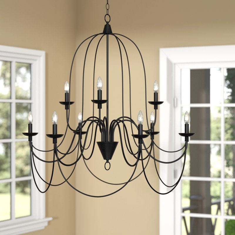 Latest Watford 9 Light Candle Style Chandelier With Regard To Watford 6 Light Candle Style Chandeliers (View 10 of 30)