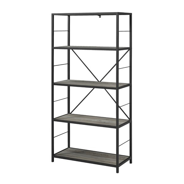 Latest Whipkey Etagere Bookcases Inside Modern & Contemporary Black Wrought Iron Etagere (Gallery 8 of 20)