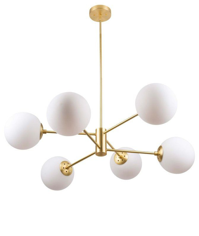 Latest Wrought Studio Bellago 6 Light Chandelier (View 8 of 30)