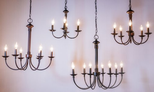 Laurel Foundry Modern Farmhouse Shaylee 5 Light Candle Style Chandelier For Trendy Shaylee 8 Light Candle Style Chandeliers (Gallery 16 of 30)